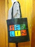 【BERLIN】エコバッグ:ブラック