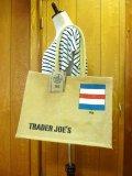 【Trader Joe's/トレーダージョーズ】エコバッグ:ジュート