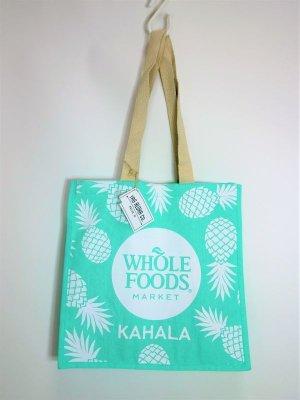 画像1: 【Whole Foods Market/ホールフーズマーケット】ハワイ限定☆エコバッグ:カハラブルーパイン