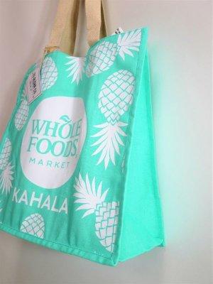 画像2: 【Whole Foods Market/ホールフーズマーケット】ハワイ限定☆エコバッグ:カハラブルーパイン