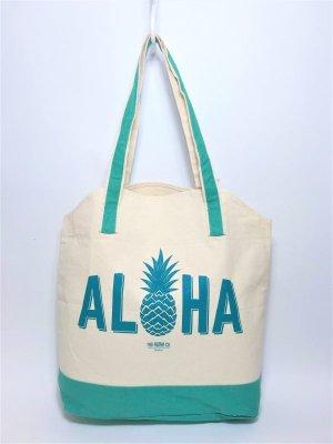 画像2: 【Whole Foods Market/ホールフーズマーケット】ハワイ限定☆エコバッグ:アロハトート(カハラ)