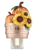 【Bath&BodyWorks】Wallflowers本体:パンプキン&サンフラワーバスケット